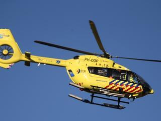 Traumahelikopter ingezet voor assistentie