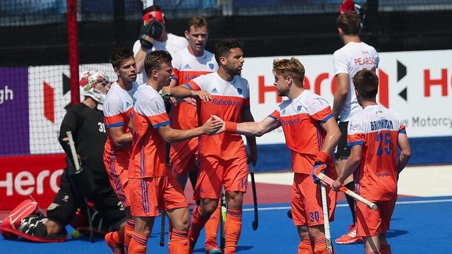 Nederland verslaat Canada in derde groepswedstrijd Hockey World League