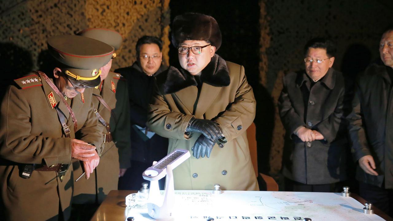 Raketlanceringen Noord-Korea