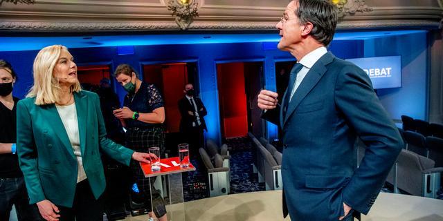 Kaag noemt formatie 'teamspel', Rutte sprak met formateur over vertrouwen