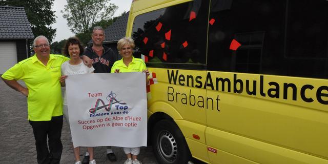 Etten-Leurenaar via WensAmbulance Brabant naar Alpe d'Huzes