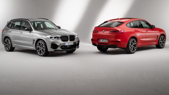 BMW introduceert M-versies van X3 en X4