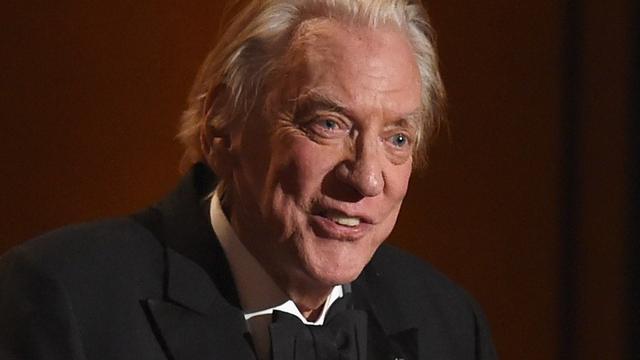 Filmfestival Zürich eert Donald Sutherland met Lifetime Achievement Award
