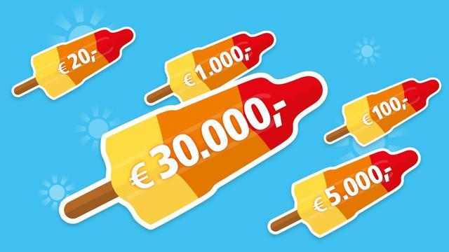 Maak direct kans op 30.000 euro als je meespeelt in de BankGiro Loterij