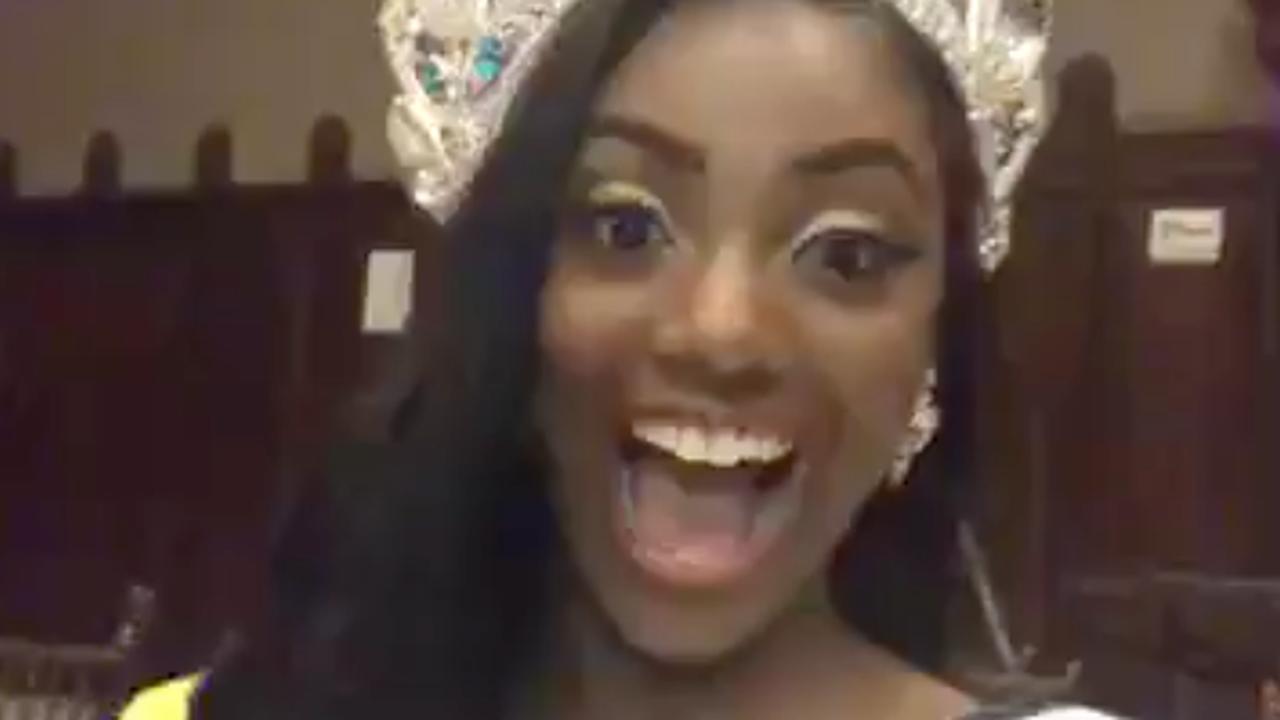 Nederlandse Leito, nieuwe Miss Teenager Universe, reageert op overwinning