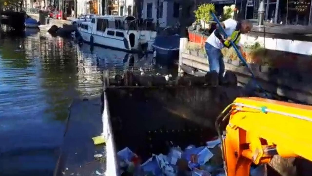 Grote schoonmaak na Canal Parade