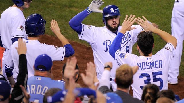 Honkballers Kansas City Royals zeker van World Series