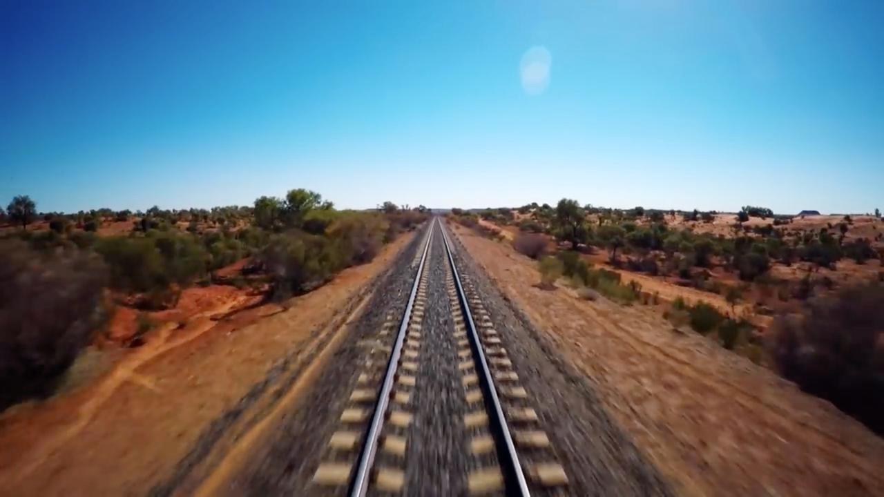 Trailer: Zeventien uur durende trein special op tv in Australië