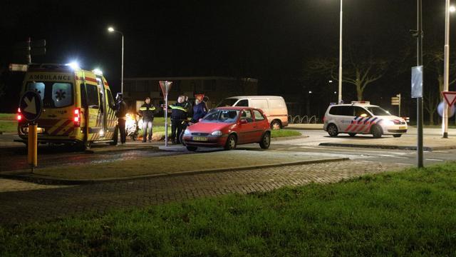 Bromfietser gewond bij aanrijding in Leiden Zuid-West