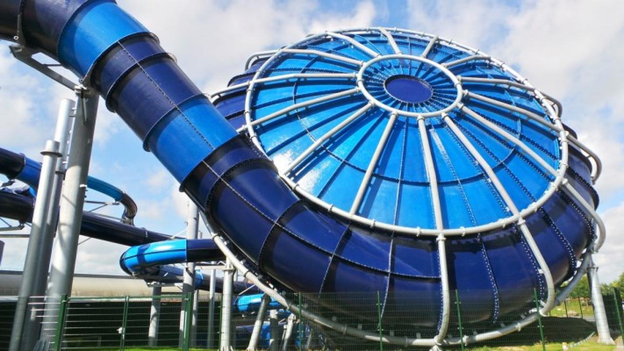 Nederlands bedrijf maakt grootste waterglijbaan ter wereld