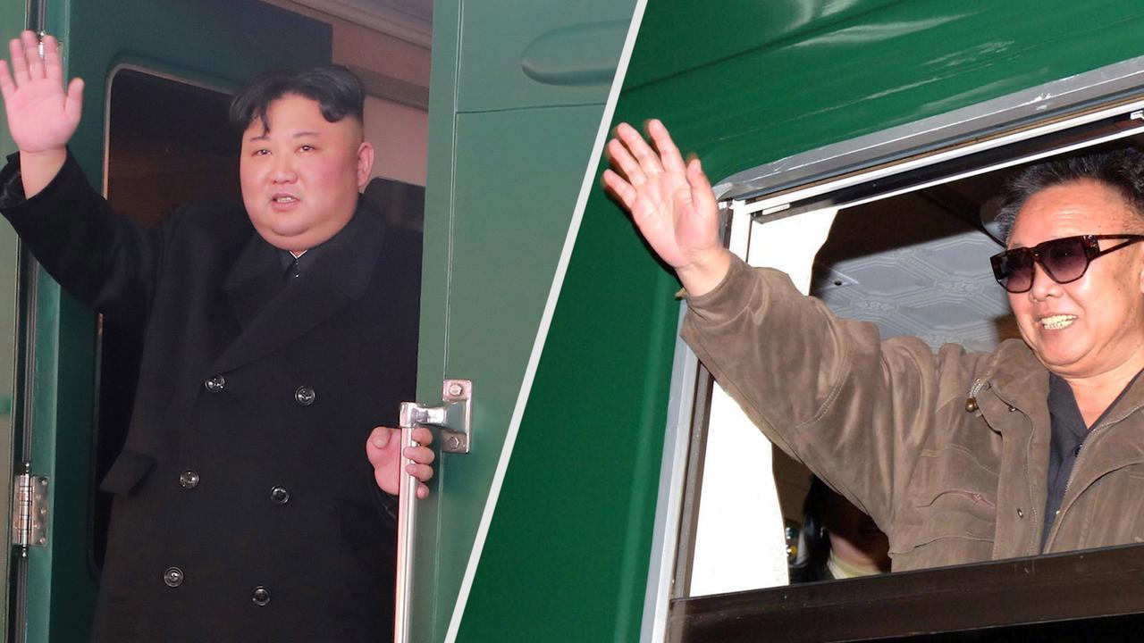 Waarom Noord-Koreaanse leiders liever met de trein reizen
