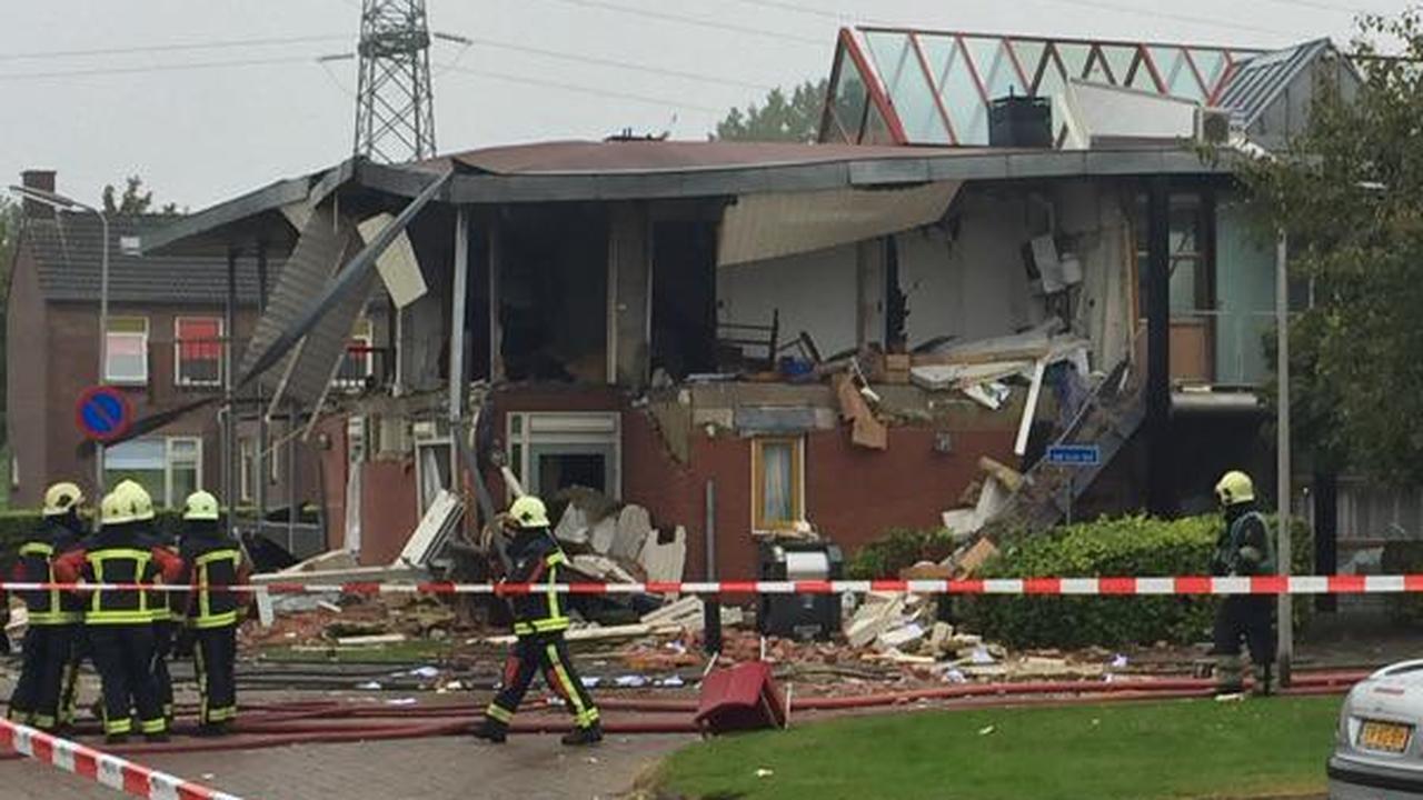 zwaargewonde na explosie in Hoogeveen