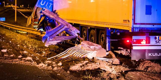 Man raakt gewond bij ongeluk op A50 bij Ekkersrijt, afslag weer open