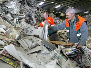 In Zeeland meeste papier per inwoner ingezameld