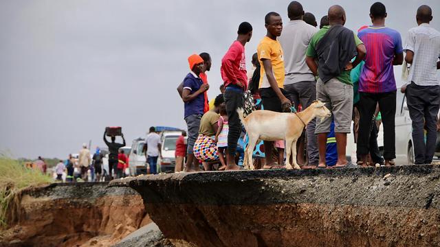 Honderdduizenden mensen ontheemd door cycloon Idai in Zuidoost-Afrika