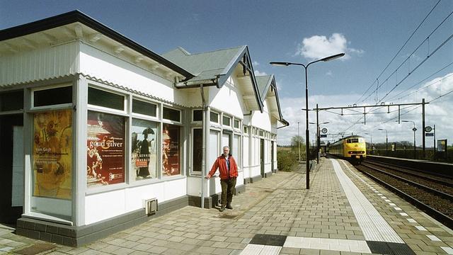 Laatste houten station van Nederland behouden