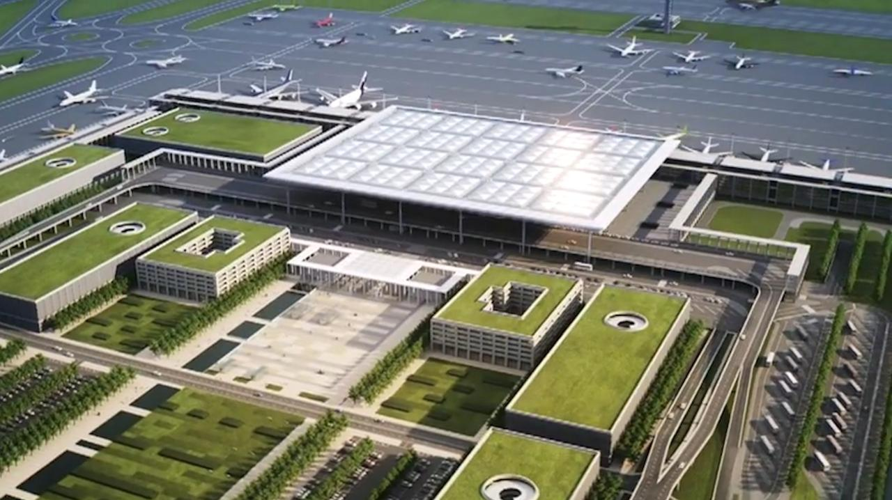 Zo komt Flughafen Berlin Brandenburg eruit te zien