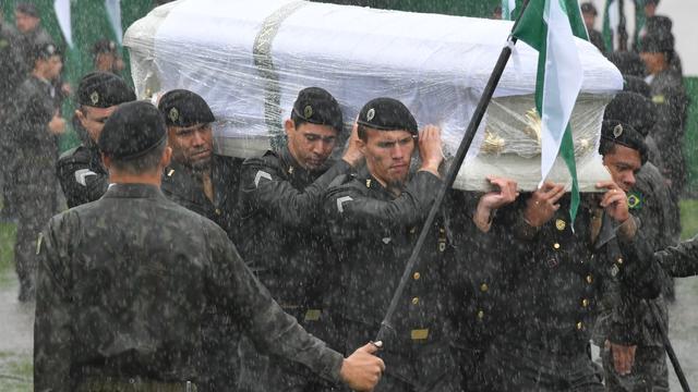 Slachtoffers vliegramp voetbalclub Chapecoense herdacht