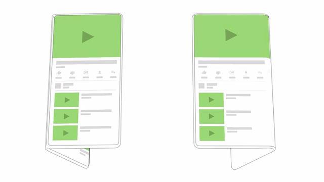 Google kondigt Android-ondersteuning voor opvouwbare telefoons aan