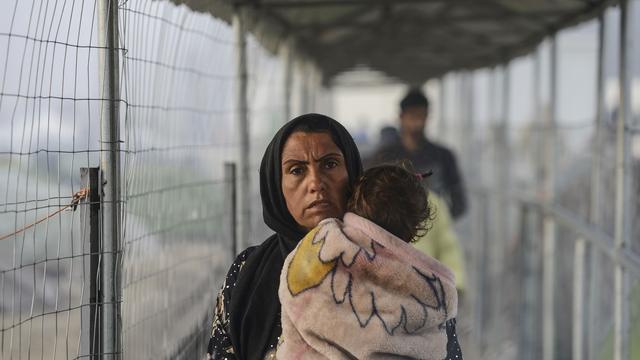 Duizenden migranten vrijwillig weg uit Griekenland