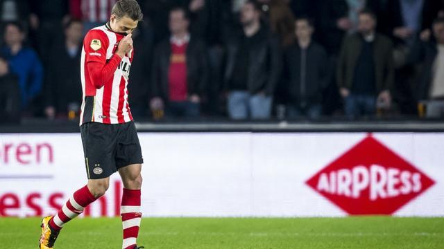 Geen nader onderzoek naar breken ruit door PSV-verdediger Arias
