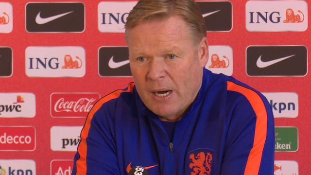 Koeman: 'Van Dijk kandidaat voor aanvoerderschap Oranje'