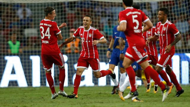 Sterk Bayern maatje te groot voor Chelsea in oefenwedstrijd