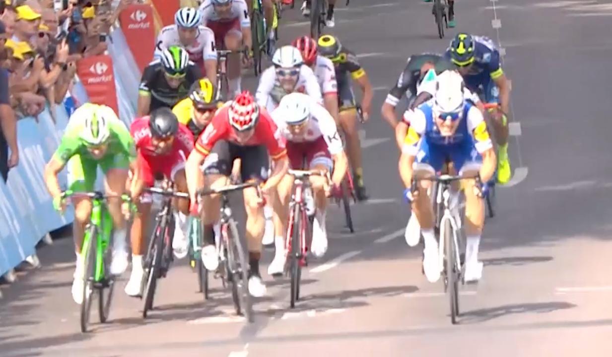 Samenvatting Tour: Kittel wint etappe, algemeen klassement ongewijzigd