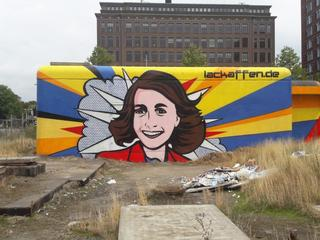 Kunstwerk werd eind augustus vernield