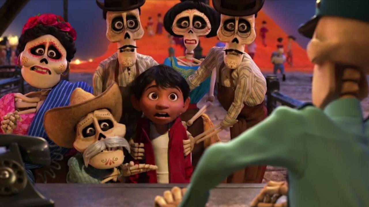De levenden en doden bezoeken elkaar in trailer nieuwe animatiefilm Coco