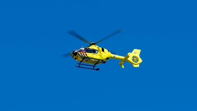 Traumahelikopter ingezet bij botsing tussen fiets en auto in Leidsche Rijn