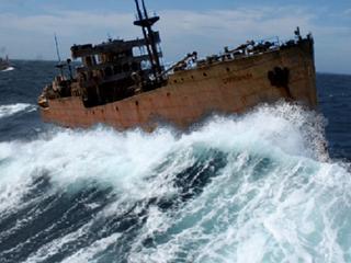 Schip zou na negentig jaar zijn opgedoken bij oorspronkelijke bestemming