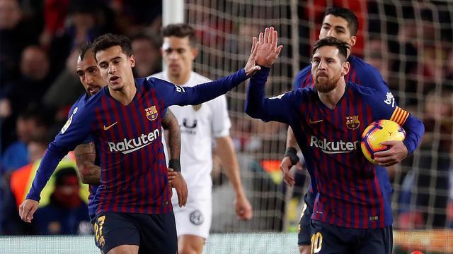 Messi redt punt voor Barcelona, Juventus geeft zege weg tegen Parma