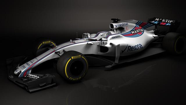 Williams geeft als eerste Formule 1-team beeld van nieuwe auto vrij