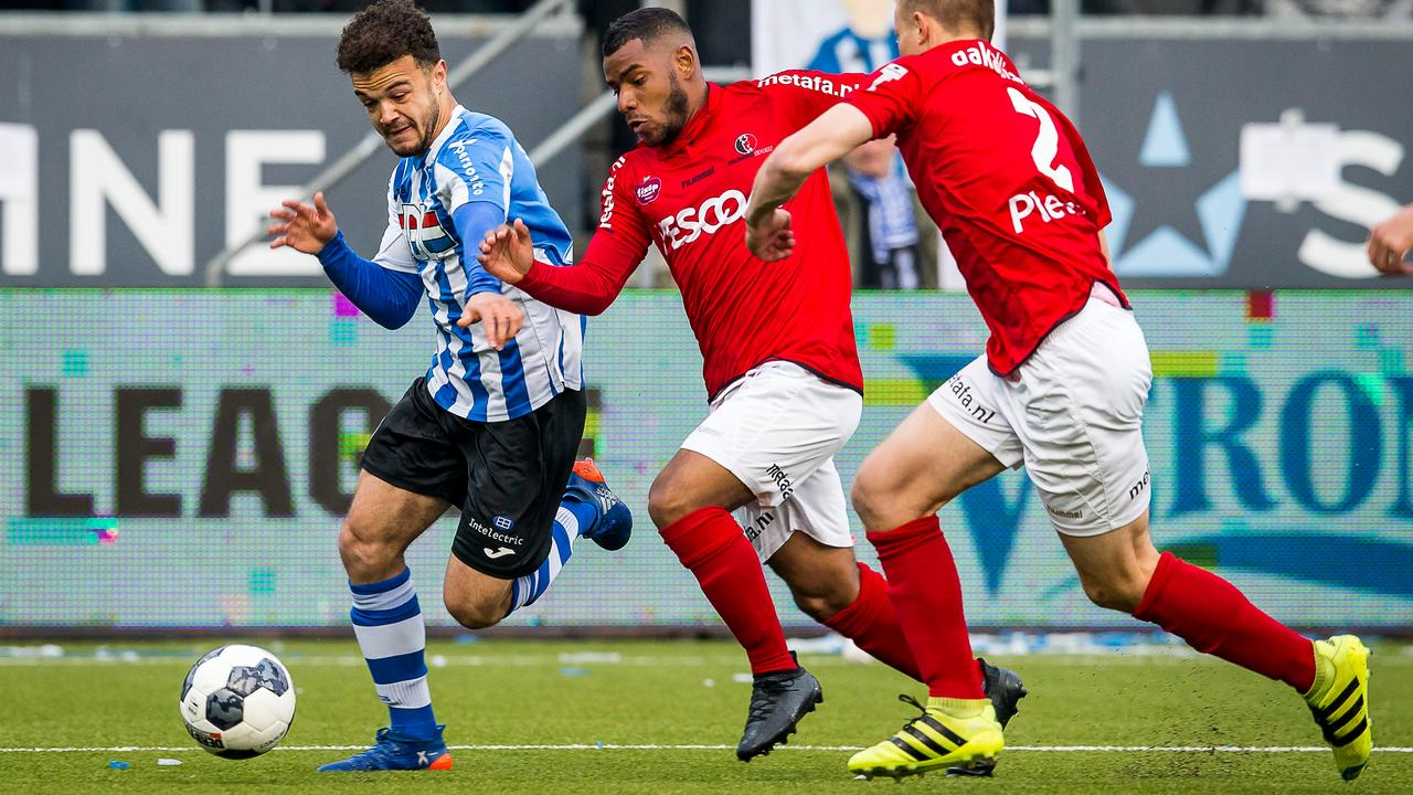 Samenvatting FC Eindhoven-Helmond Sport (2-2)