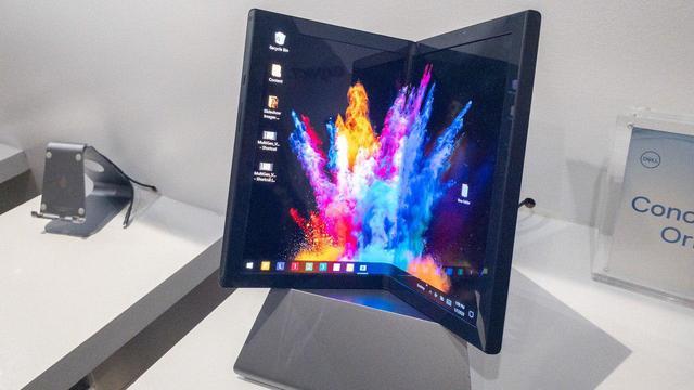 De volgende stap na opvouwbare telefoon: laptops met vouwbare schermen