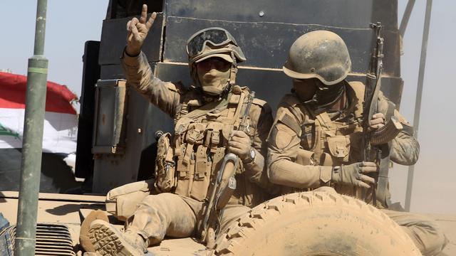 Leger Irak bevrijdt vijftien dorpen tijdens opmars richting Mosul