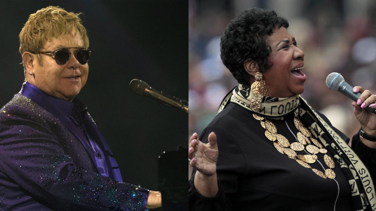 Elton John en Aretha Franklin vieren tegelijk bijzondere mijlpaal