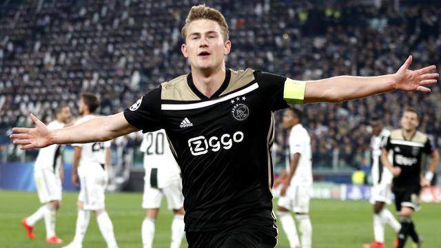 'Juventus doet bod van 70 miljoen euro op Ajacied De Ligt'