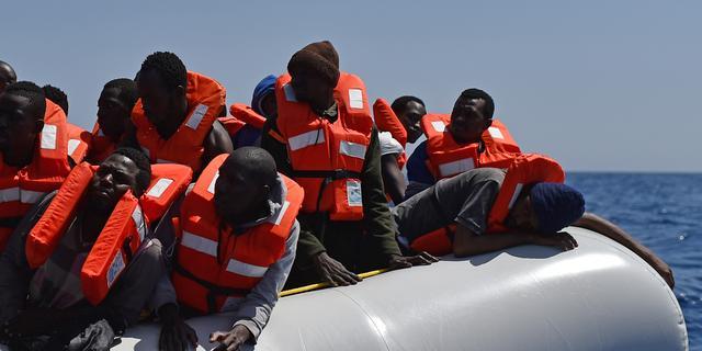 Zeker 3.200 bootvluchtelingen gered bij Libië