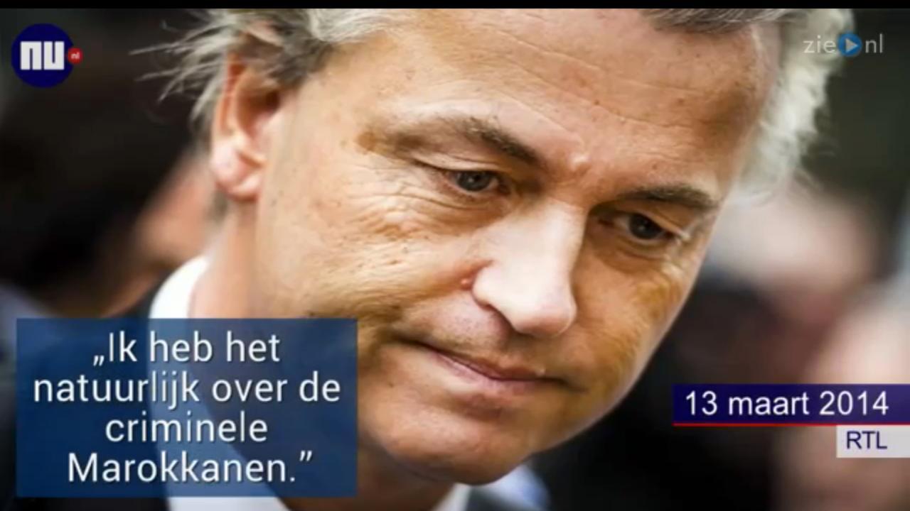Dit zijn de uitspraken van Geert Wilders over Marokkanen