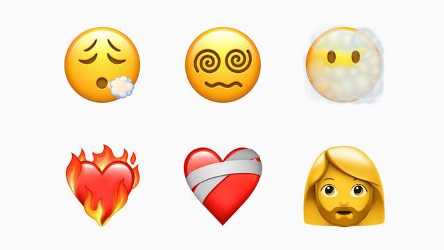 Er zijn 217 nieuwe emoji's toegevoegd.