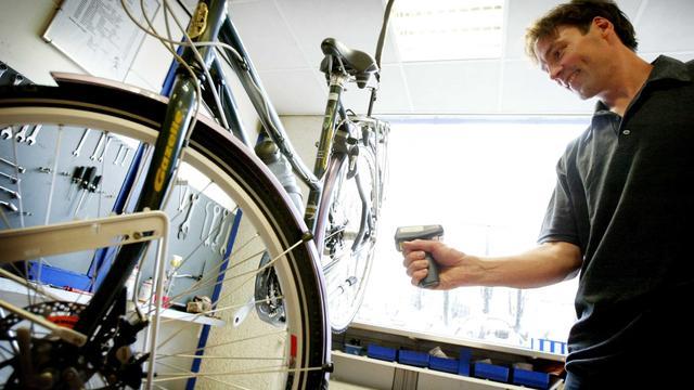 Papieren bonnetje wordt digitaal bij fietsenstallingen Utrecht