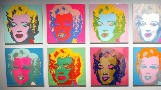 Beurs van Berlage exposeert werk van Andy Warhol en Roy Lichtenstein