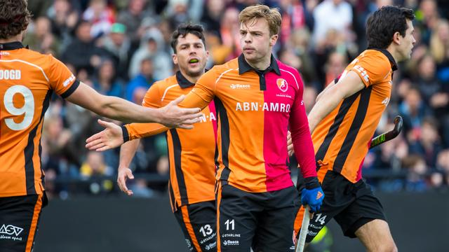 Hockeyers Oranje-Rood naar halve finales Euro Hockey League