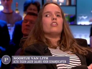 Roosendaler protesteerde tegen korting op loon arbeidsgehandicapten