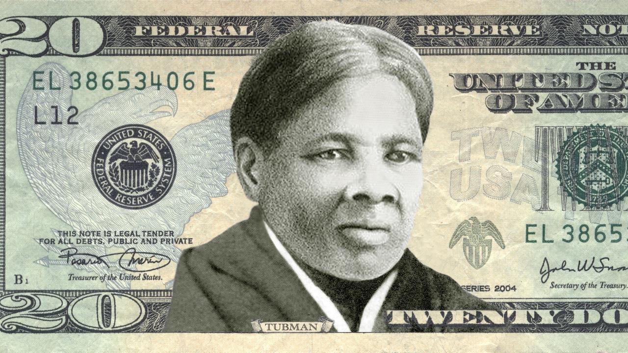 'Harriet Tubman op Amerikaans biljet van 20 dollar'