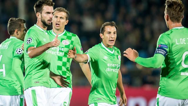 PSV laat twee punten liggen in Champions League bij Rostov