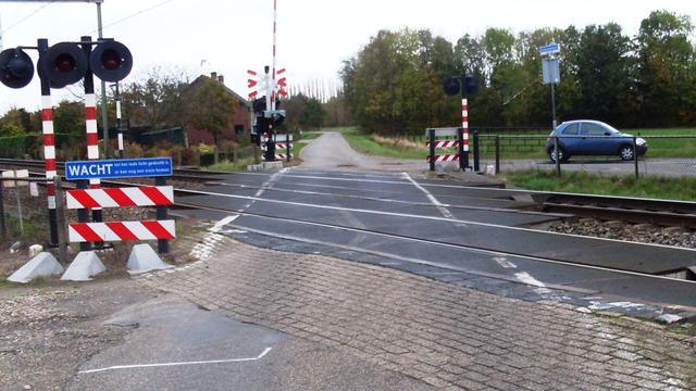 Spoorwegovergang Spiekestraat mogelijk dicht