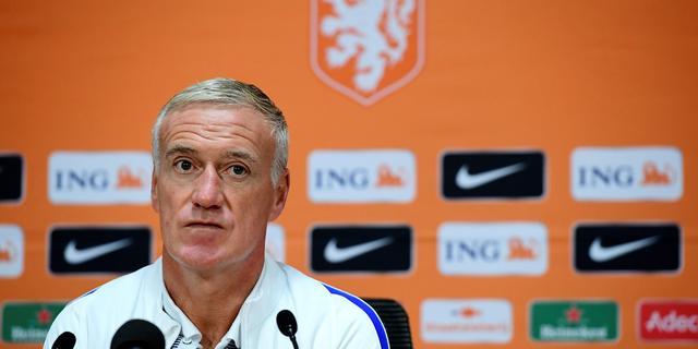 Deschamps verwacht aanvallend Nederland tegen Frankrijk